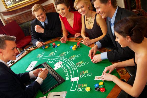 znalosť etikety v kasíne