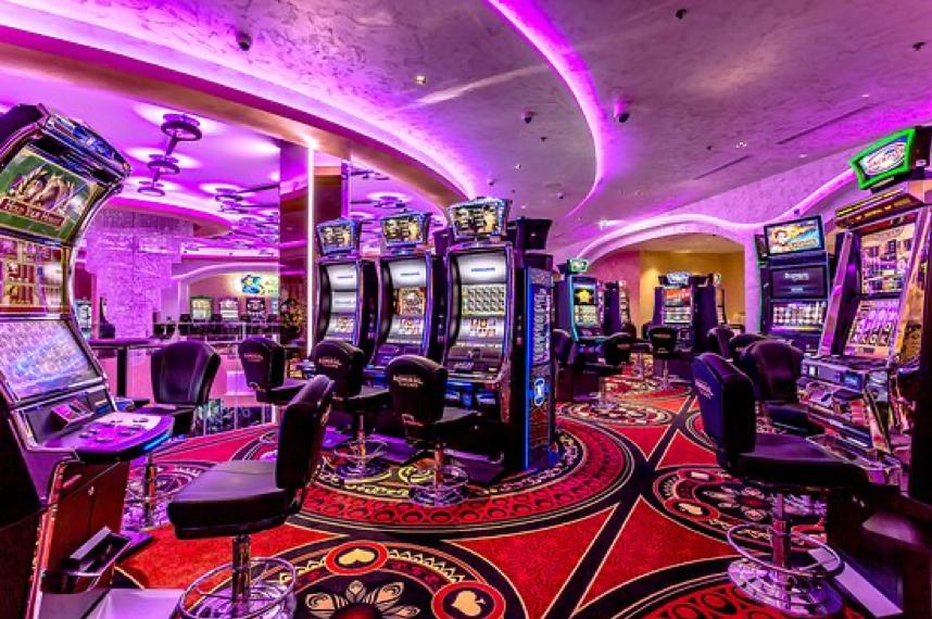 Interiér kasína