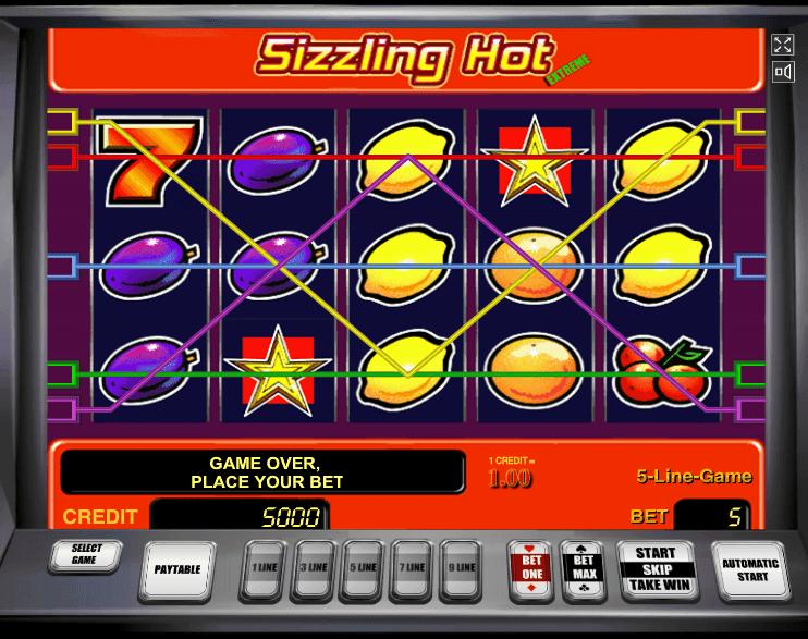 Sizzling Hot Tricks Cheats